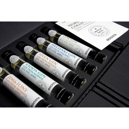Nordic Gin Collection - 5x 60 ml.