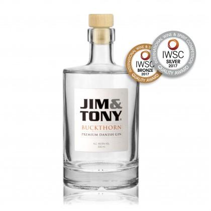 Jim&Tony - Buckthorn Award Winning Premium Danish Gin
