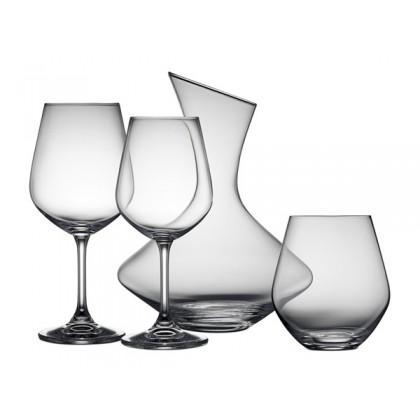 Lyngby Glas Krystal Glassæt 19 dele