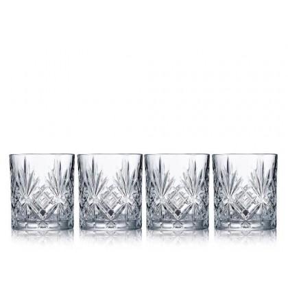Lyngby Glas Krystal Melodia Shotglas 5 cl - 4 stk.