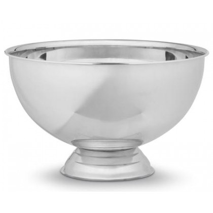 BASTIAN champagnebowle blank stål Ø38cm.