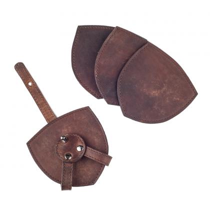 Bordskåner i  eksklusiv læder
