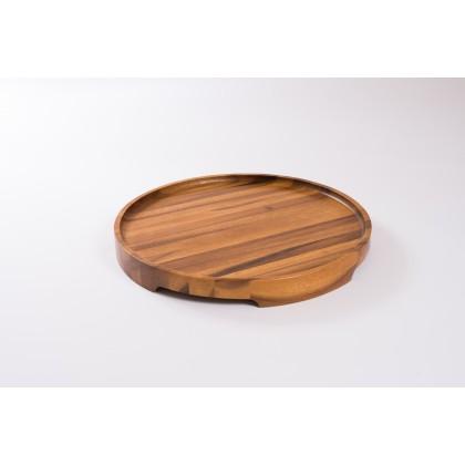 TRAYit - Multifunktionel serveringsbakke i ægte træ; akacia, eg eller ask