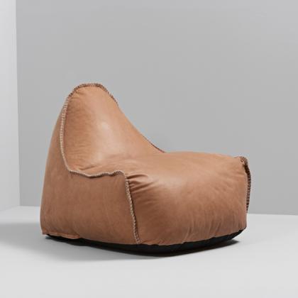 RETROit Dunes - Sækkestol i læder fra Sørensen læder