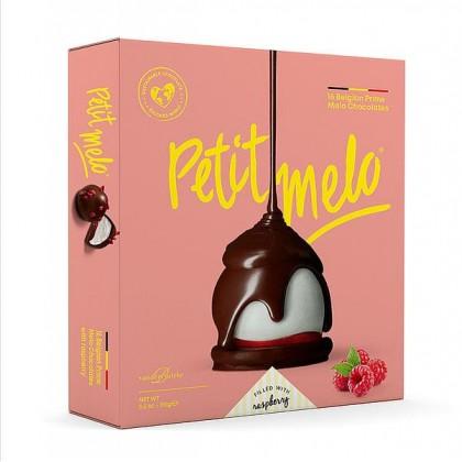 Petit Melo - Miniflødeboller Hindbær